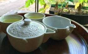 伝統工芸「出石焼き」こだわりの茶器セット