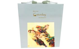 「Caturday」オリジナル紙袋SSサイズ1袋