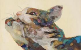 世界で1つ。あなたの猫ちゃんを描いてもらえる権利/日本画