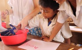 子どもたちの手作りギフトプラン