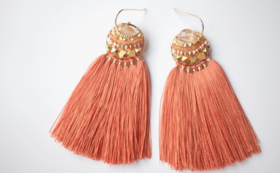 【61%OFF】Rutile Feather tassel Amulet【早期購入割引】