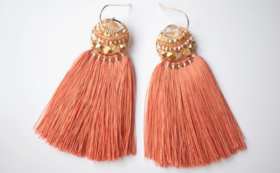 【51%OFF】Rutile Feather tassel Amulet【早期購入割引】