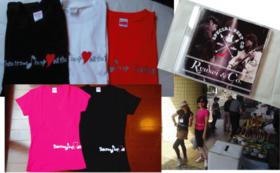 復興支援【オリジナルTシャツ&CD】コースⅠ