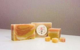【花見山お土産プロジェクトを応援!】花想ひシリーズの「石鹸」ギフトセット & フォトレポート