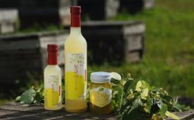 ミツバチと自然とのつながりを感じるハチミツとミード酒のセット