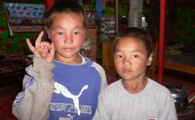 モンゴルの子どもたちからのお礼ムービー