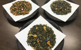 城崎限定フレーバー日本茶「観光名所3種セット」