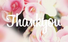 【学生の方向け】ご支援に全力で感謝いたします!