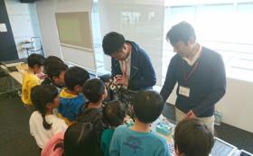 ロボットプログラミング体験会のデリバリーコース!