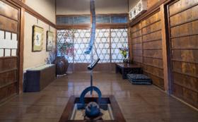 唐津の水野旅館(登録有形文化財)でお食事