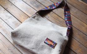 【彼女たちからのありがとう動画+コルテとリネンのショルダーバッグ】SABASABAの商品を買って支援に繋げよう!