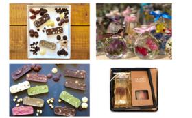 ハーバリウムと久遠チョコレート進呈コース