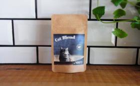 【猫サプリ付き】猫座布団ちぐらと、コーヒーチケット5枚綴り
