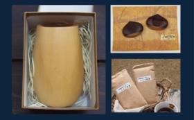 【木のカップと箸置きと紅茶】ミャンマーの製品を買って支援につなげよう!