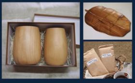 【木のカップとお皿と紅茶】ミャンマーの製品を買って支援につなげよう!