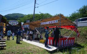 【ご来場時にお茶とお菓子サービス】田んぼをつかった花畑の開催継続を願って。