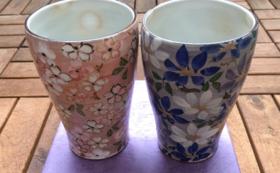蔵樹 四季のビアグラス 抹茶ほうじ茶カプチーノ