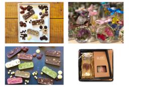 ハーバリウムと久遠チョコレートのセットの販売権利付きコース