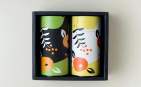 【感謝の気持ちを込めて】静岡茶 2 缶セット(しみずのお茶+特撰茎ほうじ茶)