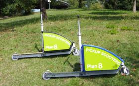 《企業様にもおススメ!》製作するピックアップスクーターに企業ロゴやあなたの名前を刻みます(小)