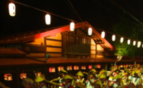 【よされ満喫コースA|8月16日】ペア桟敷席+板留温泉『旅の宿斉川』ペア宿泊券