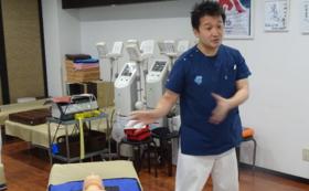 スタッフ【石戸裕亮】による心肺蘇生講習会:8席