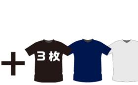 FOOTRACK BOX創刊号+FOOTRACKオリジナルTシャツ3枚