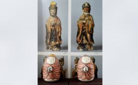 20,000円① 日光・月光菩薩のおきあがりこぼし