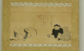 300,000円 大泰寺出身の名僧 雪潭和尚の掛軸のレプリカ