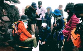 富士登山に挑戦2018 全力応援プラン100