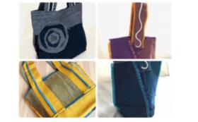 《商品を買ってkittyuna-キッチュナ- と作家たちを応援!》KUMINのバッグ
