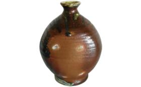 《世界一の登り窯実現へ!ラストスパート応援》【限定2点】自然釉 壺