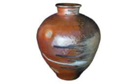 《世界一の登り窯実現へ!ラストスパート応援》【限定3点】自然釉 壺
