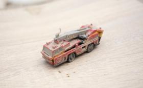 被災地が届く:消防車