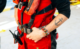 【SOS 応援コース】レスキュー隊の救助胴着一式が揃います。