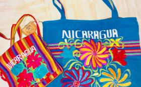 ニカラグア産手作りショルダーバッグor手提げバッグコース(選択不可)