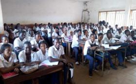 【法人向け】アフリカ現地からの学生から感謝の動画