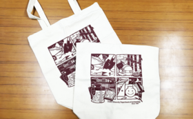 【数量限定|非売品グッズコース】研究室オリジナルトートバッグ