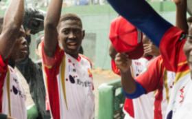 野球に打ち込んで来たブルキナファソの青年の夢を応援!