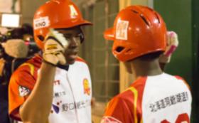 代表選手と野球の練習!ブルキナファソナショナルチームの野球教室に訪問