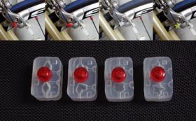 自転車店様に、4種類のほつれ止め器を2セットお届け!