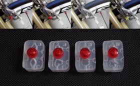 自転車店様に、4種類のほつれ止め器を4セットお届け!