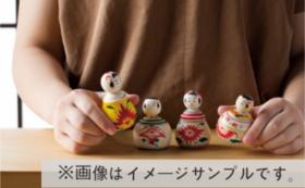ミラノ展示会応援 〜小寸こけし3工房フルセット〜