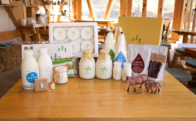 50,000の内容+森林ノ牧場の乳製品セット