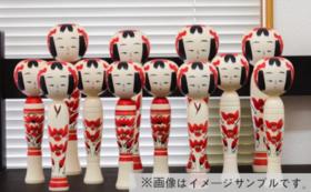 ミラノ展示会応援〜新しい伝統こけし3工房フルセット〜