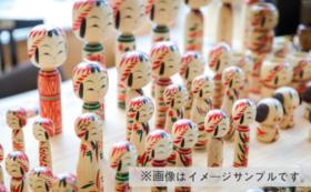 ミラノ展示会応援 新しい伝統こけし 師弟フルセット 6本