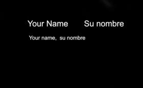 ご協力者としてクレジットにお名前を記載