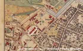 【非公開資料】古地図を持って葵町製糸場現地散策会参加権付き(参加できない方は、報告書をお送りします)