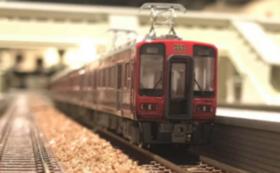 南海電気鉄道 花鉄道赤備え列車4両セット 水間鉄道1日フリー乗車券セット