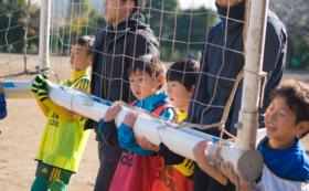 サッカー教室サポートスタッフ